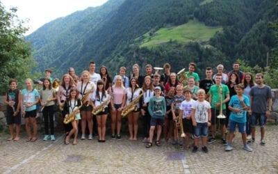 Klänge erschallen durch das Schnalstal – Viertes Sommercamp der Jugendkapelle Naturns/Schnals
