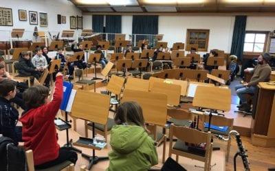 Instrumentenvorstellung für SchülerInnen der Grundschule Naturns