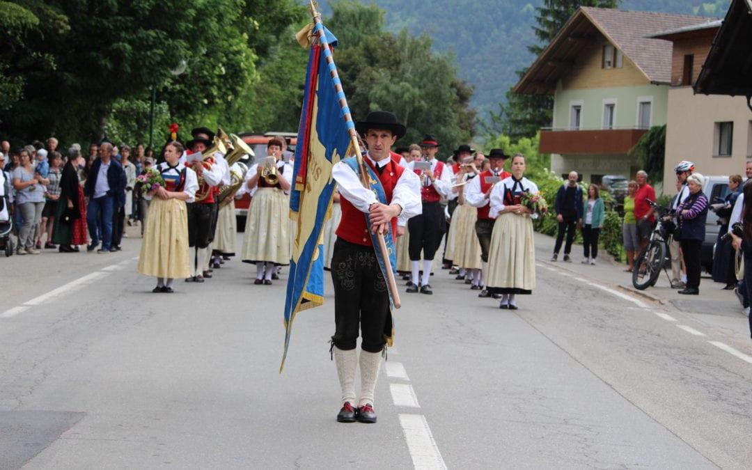Drei Tage im Zeichen der Blasmusik – Bezirksmusikfest in Naturns 2018