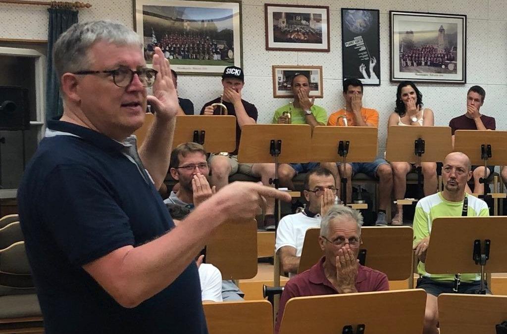 Marsch- und Polka-Workshop mit Toni Scholl