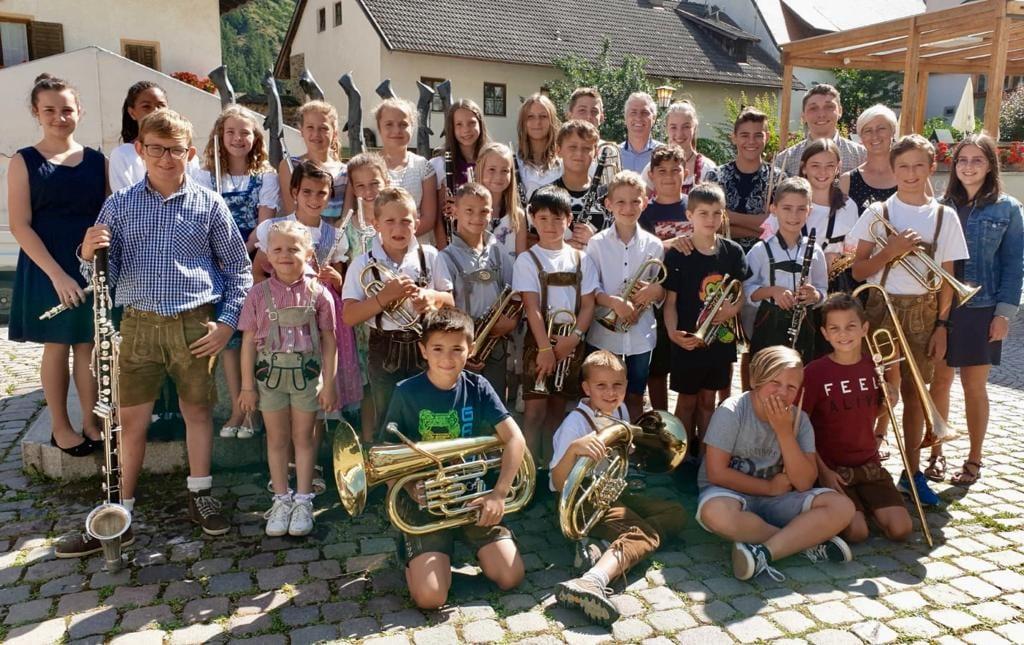 Sommercamp der Jugendkapellen Naturns und Schnals